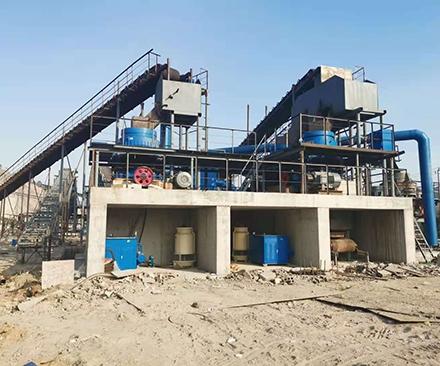 温州某矿生产线现场